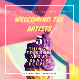 Welcoming the Artists